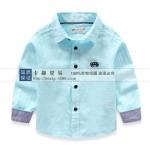 Pre-order เสื้อเชิ้ต / แพ็คละ 5 ตัว / Light Blue