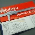 R05 เวอร์เนีย Mitutoyo 6 นิ้ว ความละเอียด 0.02 วัด /นิ้ว/มิล made in japan