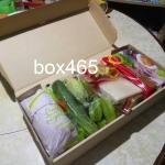 กล่องปลาเผา Boxset แพค 50ใบ