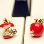 ต่างหูแฟชั่น แอปเปิล