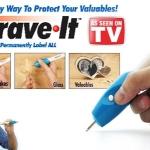 PE02 ปากกาแกะสลักอเนกประสงค์ Engrave – It สินค้า USA TV