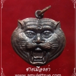 เหรียญหน้าเสือ เนื้อทองแดง หลวงพ่อเปิ่น วัดบางพระ