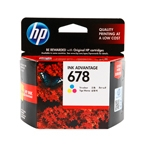 HP 678 Color ตลับหมึก สี ราคา 360 บาท