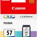 ตลับหมึกแท้ Canon 57 หมึกสี Color ราคา 550 บาท