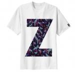 เสื้อยืด ลาย ตัวอักษร Z
