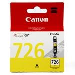ตลับหมึกอิงค์เจ็ต Canon 726 Y สีเหลือง หมึกแท้ 100%