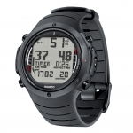Suunto D6i ALL-BLACK w.USB, w. Elastomer Strap