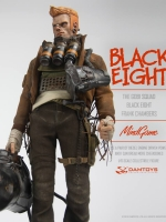 DAMTOYS ZP001 MindGame The Gobi Squad - Black Eight Frank Chambers