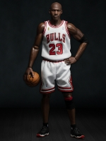 Enterbay chicago bulls 23 (series legend michael jordan white)