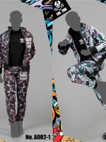 26/04/2018 TIDE-ZONE A002 Sports Camouflage Outfits