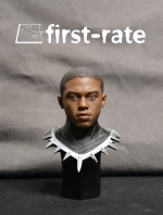 25/10/2017 First-Rate FR-01 Panthers 1/6 headsculpt with war clothing base Chadwick Boseman