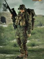 VERYHOT NO:1014-C USMC Sniper