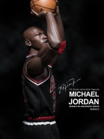 Enterbay chicago bulls 23 (series 2 the last chot legen michael jordan black)