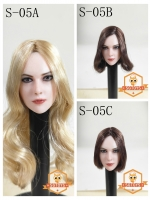 28/08/2018 SGTOYS S-05 Female head carving