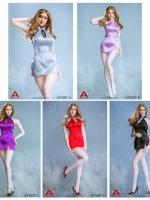 25/06/2018 ACPLAY ATX037 Sexy lady short backless cheongsam