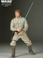 SIDESHOW STAR WARS - Heroes Of The Rebellion: LUKE SKYWALKER REBEL COMMANDER : BESPIN