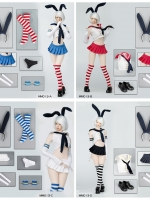 27/06/2018 Manmodel MM013 Two-dimensional sailor suit rabbit ear suit
