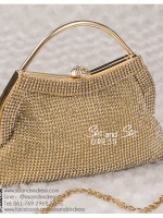 bs0016 กระเป๋าคลัช สีทอง กระเป๋าออกงานพร้อมส่ง บริกาให้เช่ากระเป๋าออกงาน เครื่องประดับออกงาน แบบสวยๆ ดูดีเหมือนดาราใช้