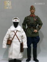 31/08/2018 Alert Line AL100023 WW2 1942 Red Army Infantry Lieutenant Officer Set