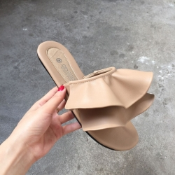 [มี2สี] รองเท้าแตะคีบ ทรงหัวปลา ส้นแบน แบบสวมเปิดส้น แฟชั่นหนัง pu คุณภาพสูง ทรงสุขภาพ ใส่สบาย ใสชิลล์ ที่สำคัญสวยมากค่ะ