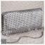 bs0017 กระเป๋าคลัช สีเงิน กระเป๋าออกงานพร้อมส่ง บริกาให้เช่ากระเป๋าออกงาน เครื่องประดับออกงาน แบบสวยๆ ดูดีเหมือนดาราใช้ thumbnail 1