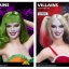 Flirty Girl FGC2017-37HS / FGC2017-38HS VILLAINS Female head sculpt thumbnail 1