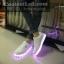 รองเท้ามีไฟ รองเท้า LED เปลี่ยนสีได้ 8 สี thumbnail 3