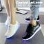 รองเท้ามีไฟ รองเท้า LED สีขาว เปลี่ยนสีได้ 11 สี thumbnail 2