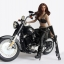 HotPlus HP047 Motocycle Jacket Girl thumbnail 6