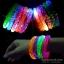 กำไลข้อมือเรืองแสง มีไฟ LED กระพริบ ลายฟองอากาศ แบบเปลี่ยนถ่านได้ thumbnail 5
