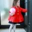 Pre-order ปลีก เสื้อคลุม / Size 110 /สีแดง thumbnail 8