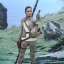 Hot Toys MMS377 STAR WARS: THE FORCE AWAKENS - REY (RESISTANCE OUTFIT) thumbnail 4