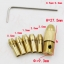 CH06 ชุดหัวจับดอกสว่านจิ๋ว 0.5-3.0 mm สำหรับ DIY เปลี่ยนมอเตอร์เป็นสว่าน thumbnail 2