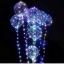 ลูกโป่ง Bobo ลูกโป่ง LED ลูกโป่งมีไฟเรืองแสง แบบใส ขนาด 20 นิ้ว แบบมีไฟเส้นสีรุ้ง thumbnail 8