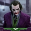 Hot Toys QS010 THE DARK KNIGHT - 1/4 THE JOKER thumbnail 3
