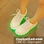 รองเท้ามีไฟ รองเท้า LED สีขาว เปลี่ยนสีได้ 11 สี thumbnail 4