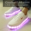 รองเท้ามีไฟ รองเท้า LED เปลี่ยนสีได้ 8 สี thumbnail 6