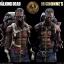 Threezero 3Z0019 + WD-ZG/WD-ZR AMC The Walking Dead - Michonne + Pet Walker Twin Pack (Exclusive Version) thumbnail 5