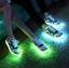 รองเท้ามีไฟ รองเท้า LED สีขาวน้ำเงินแดง มีลายรูปดาว เปลี่ยนสีได้ 11 สี สินค้าพรีออเดอร์ thumbnail 6
