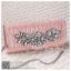 bs0009 กระเป๋าคลัช สีชมพู กระเป๋าออกงานพร้อมส่ง ราคาถูกกว่าเช่า แบบสวยๆ ดูดีเหมือนดาราใช้ thumbnail 1