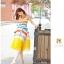 *หมดค่ะ*เดรสผ้าชีฟองลายขวาง สลับสีสดใสฟ้า-แดง-เหลือง น่ารักๆ thumbnail 1