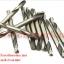 DRV02 ดอกสว่าน 2 หัว ไทเทเนียม ใช้สำหรับงานเจาะรูรีเวท ขนาด 4 มิล 5/32 หุน รีเวทเบอร์ 4 แพ็คละ 10 ดอก thumbnail 3