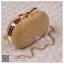bs0003 กระเป๋าคลัช สีทอง กระเป๋าออกงานพร้อมส่ง ราคาถูกกว่าเช่า แบบสวยๆ ดูดีเหมือนดาราใช้ thumbnail 1