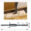 DS04 ชุดดอกเจาะรูไม้สี่เหลี่ยม 1/4 -1/2 สำหรับเจาะรูต่อโต๊ะ เก้าอี้ DIY thumbnail 4