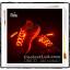 เชือกรองเท้าเรืองแสง มีไฟ Led กระพริบ แบบสีเดียว thumbnail 2