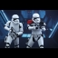 Hot Toys MMS335 STAR WARS: THE FORCE AWAKENS - FIRST ORDER STORMTROOPER OFFICER & STORMTROOPER SET thumbnail 7