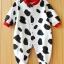 ชุดนอนเด็กลายวัวขาวดำ thumbnail 1