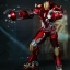 Hot Toys PPS002 IRON MAN 3 - POWER POSE RED SNAPPER thumbnail 2