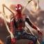 Hot Toys MMS482 AVENGERS: INFINITY WAR - IRON SPIDER thumbnail 7