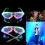 แว่นตาเรืองแสงมีไฟ LED กระพริบ thumbnail 6